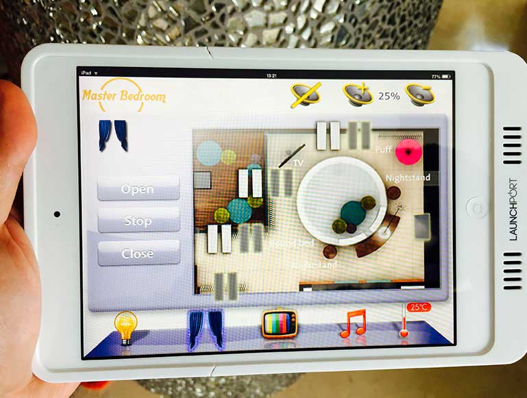Touchpanel GUI