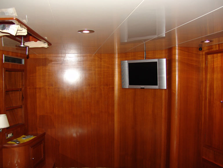 TV in cabins